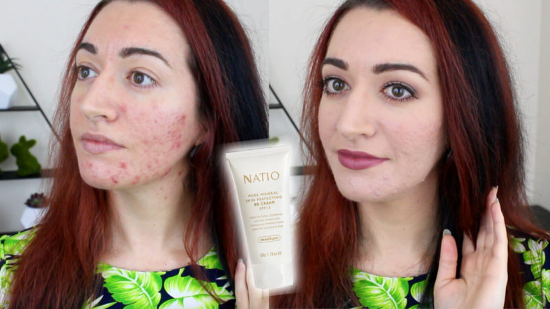 Natio Pure Mineral Skin Perfecting BB Cream Test & Review!