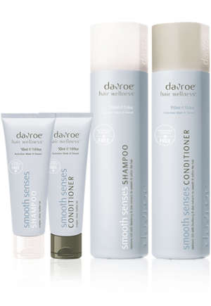 Davroe haircare smooth senses shampoo conditioner