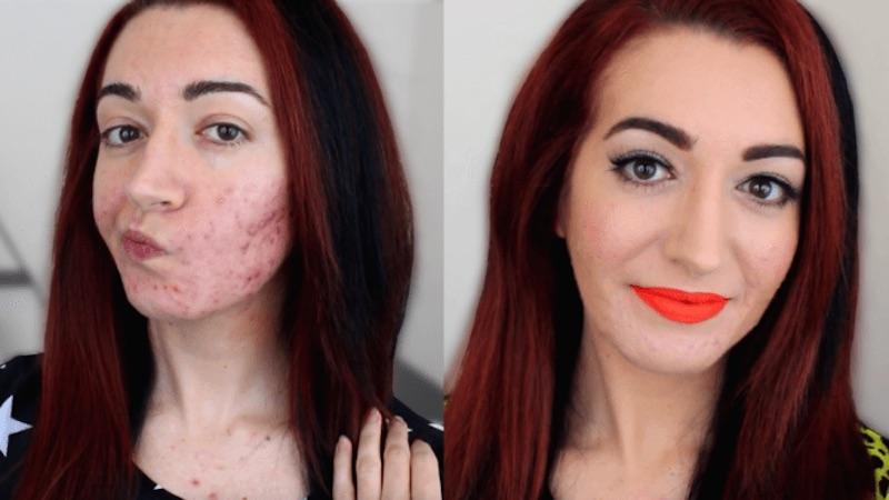 testing makeup oily skin jess bunty
