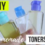 DIY Homemade toner for acne and oily skin