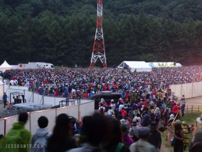 fuji rock festival japan