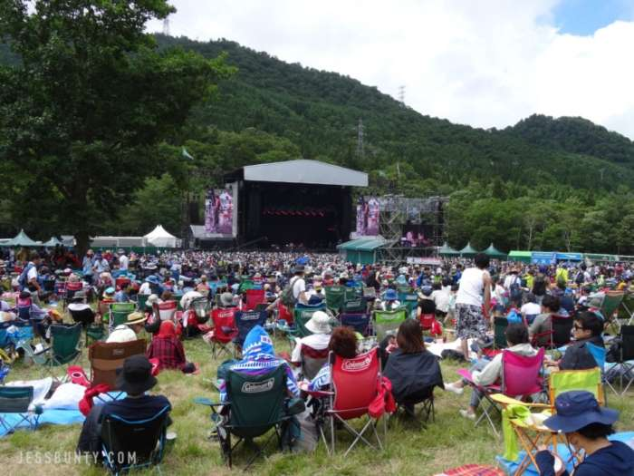fuji rock festival japan main stage