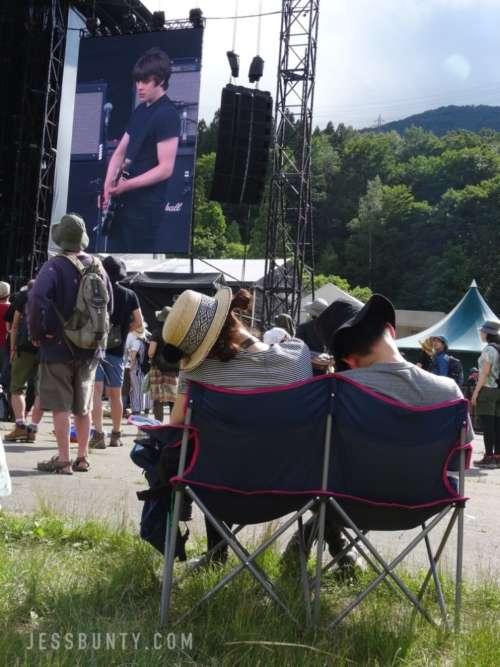 fuji rock festival japan camping