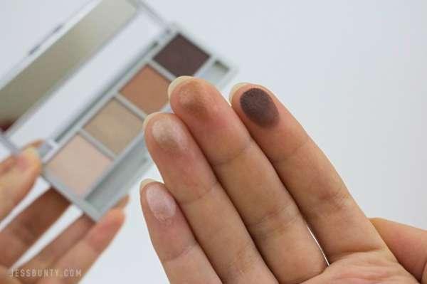 Innoxa eyeshadow review jess bunty
