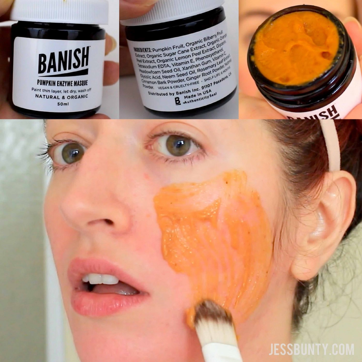 Banish Acne Scars Pumpkin Enzyme Mask Review Jess Bunty